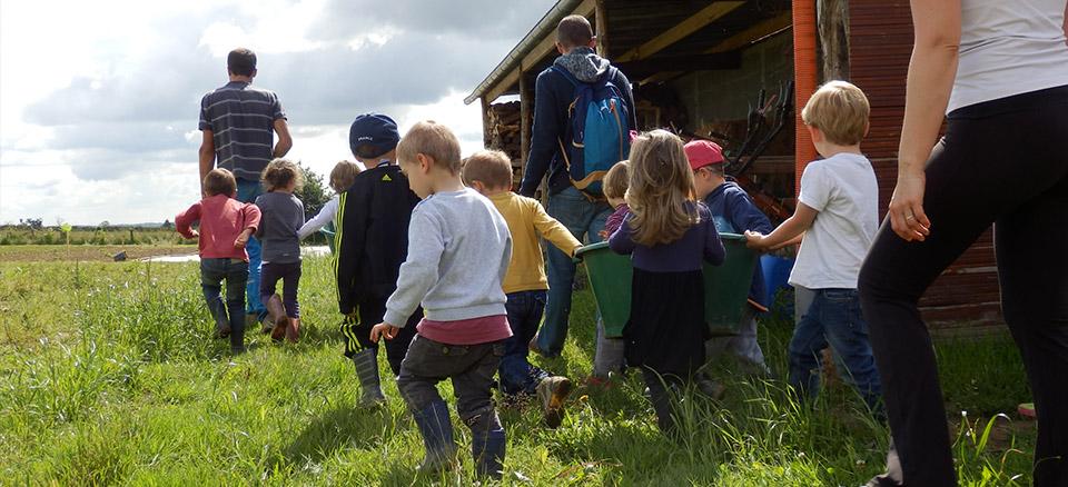 Bellevue sur l'potager, accueil groupes d'enfants pour ateliers pédagogiques